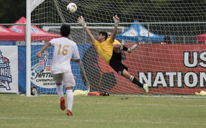 Late goal sends U18B FC Golden State to semifinals
